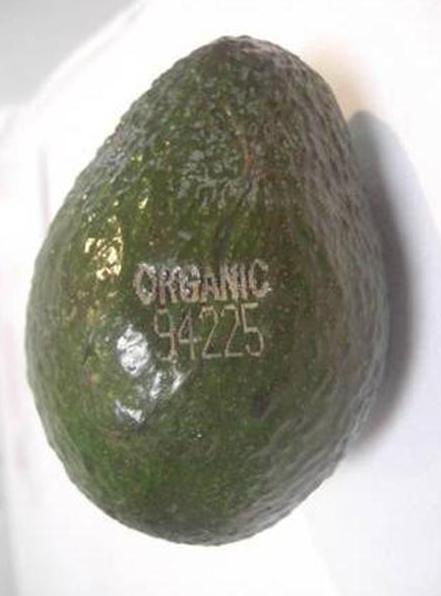 avocado-organic-label